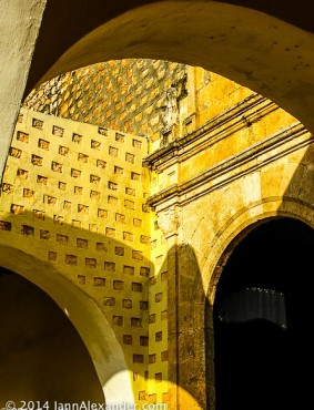 Arches in Valladolid by Jann Alexander © 2014